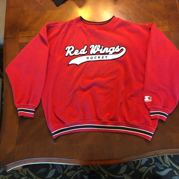 info for a00f8 e2d24 Vintage 90s Detroit Red Wings Sweater